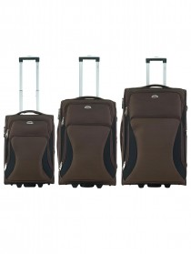 Комплект чемоданов Atma - L, M, S