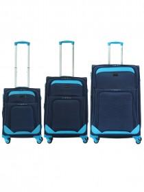 Комплект чемоданов AlezaR Blue - L, M, S