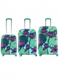Комплект чемоданов AlezaR Floreale - L, M, S