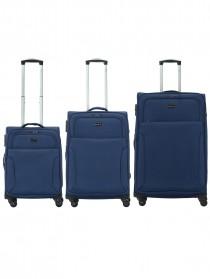 Комплект чемоданов AlezaR Carbonic - L, M, S