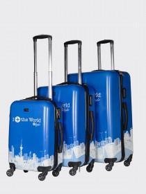 Комплект чемоданов AlezaR Flying  - L, M, S