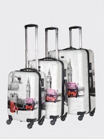Комплект чемоданов AlezaR London - L, M, S