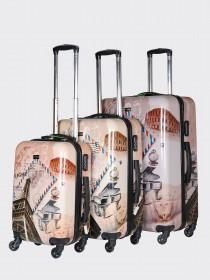 Комплект чемоданов AlezaR Paris - L, M, S