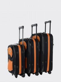 Комплект чемоданов AlezaR Contrast - L, M, S