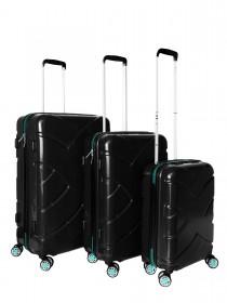 Комплект чемоданов AlezaR Hard - L, M, S