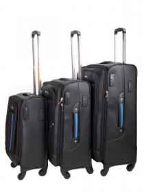 Комплект чемоданов AlezaR Honey - L, M, S