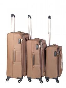 Комплект чемоданов AlezaR Nat - L, M, S