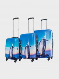Комплект чемоданов AlezaR Dubai - L, M, S