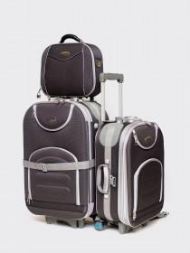 Комплект чемоданов Lapland Easy - M; S + Бьюти-кейс